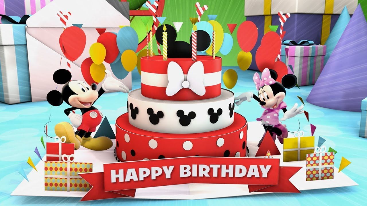 Happy Birthday Music Video Disney Junior Youtube