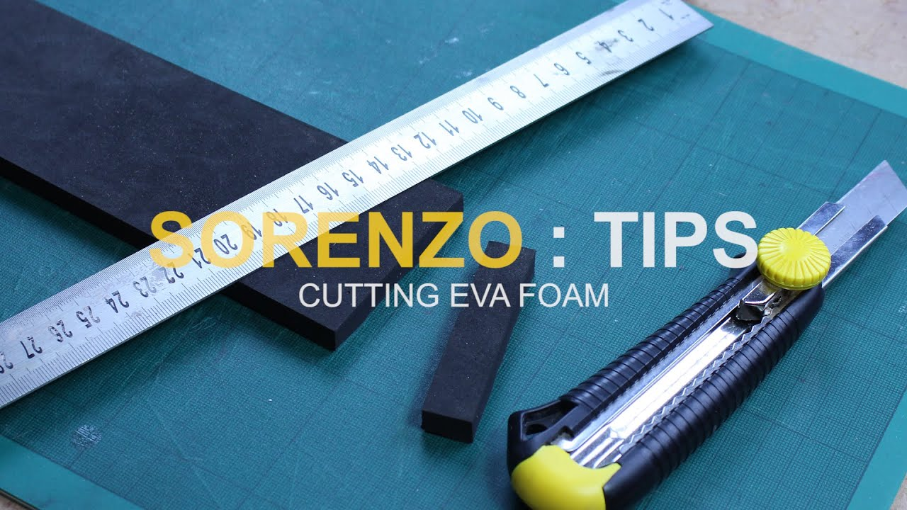 Foam Tip #1 - Cutting EVA Foam - YouTube