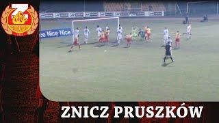 Skrót meczu ZNICZ Pruszków - CHOJNICZANKA Chojnice (10.03.2017)