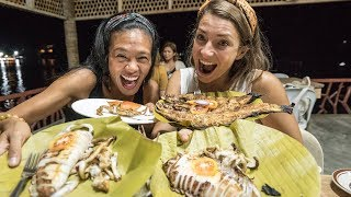 MOUTHWATERING FILIPINO SEAFOOD FEAST IN CAMIGUIN