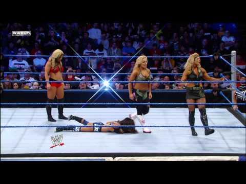 Friday Night SmackDown - AJ & Kaitlyn vs. Beth Phoenix & Natalya