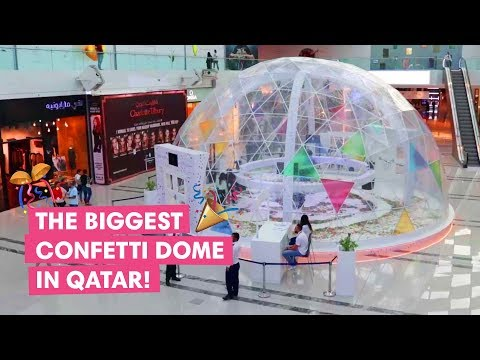 Win big at Doha Festival City's Confetti Dome!