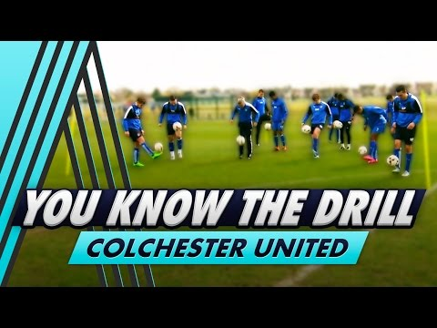 One Lap of the Skill Circuit | You Know The Drill - Colchester United