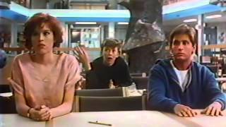 The Breakfast Club 1985 TV trailer
