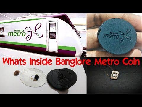 Whats Inside Bangalore Metro Coin -Namma Metro Token
