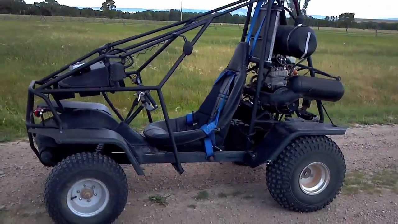 Honda Odyssey Dune Buggy- New Version - YouTube