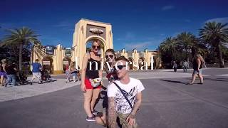 GoPro : Florida Disney universal Clearwater holiday October 2015 GoPro hero4 silver