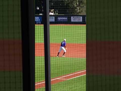 B fielding at 1B