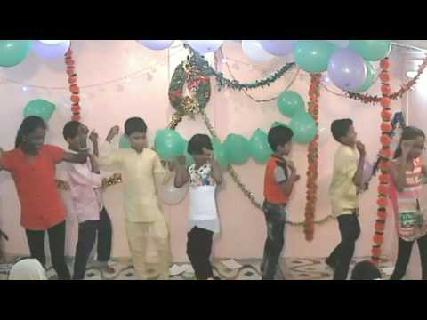 If god is with me, nothing can shake me (Dance)- Prayer mansion, Dharavi, Mumbai