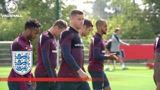England Practice Match At Tottenham Training Ground   Inside Training