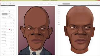 CrazyTalk 8 Tutorial - Turning a 2D Caricature into a Stylized 3D Head