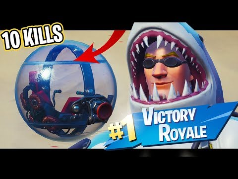 Win a game of Fortnite as a Ball?!
