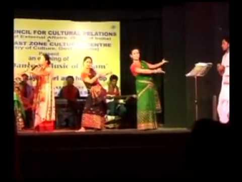 Folk dance of Assam by Jina Rajkumari