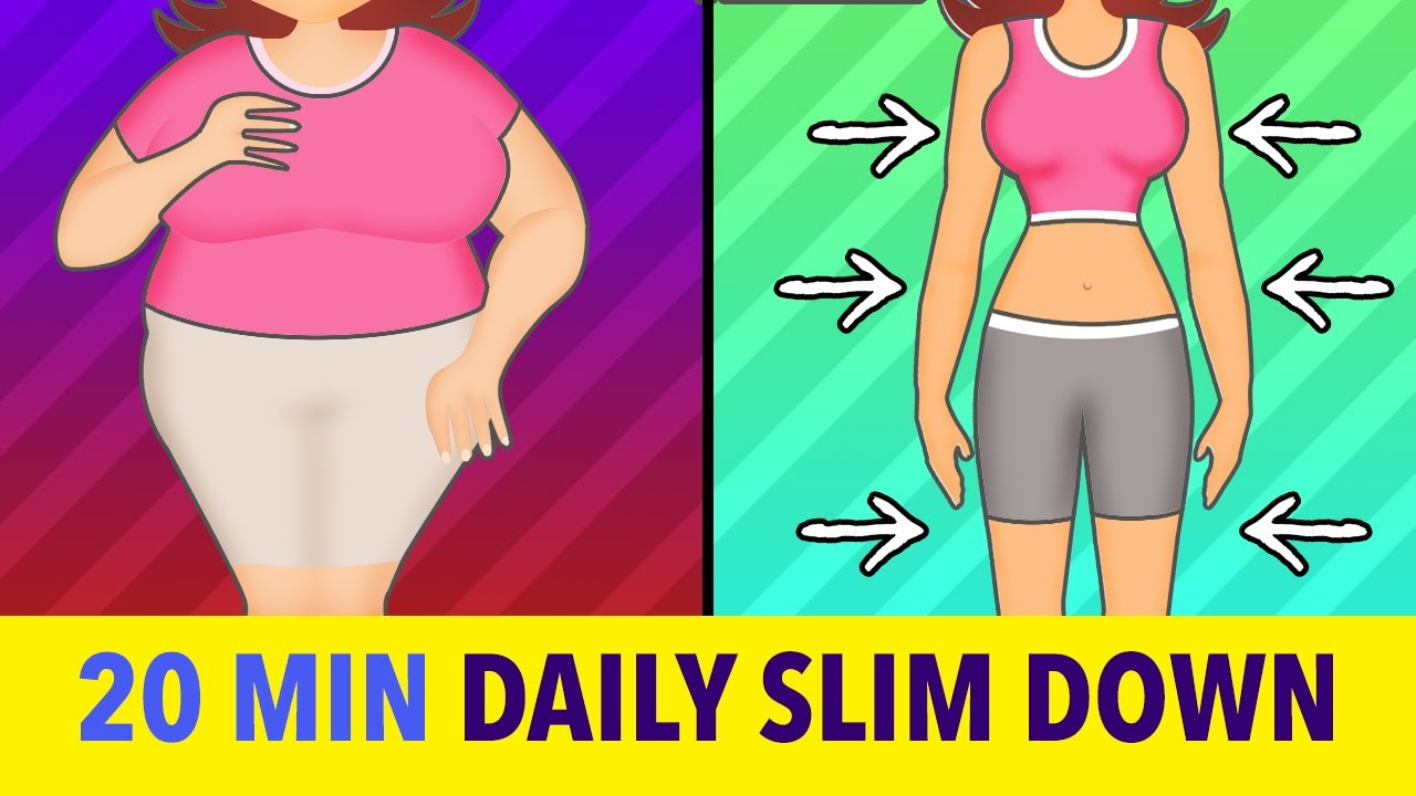 12 Min Daily Exercise To Slim Down Body