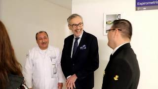 Dr Nazzareno Galiè visited Navy Mexican Hospital | Dr Nazzareno Galiè visita Centro Médico Naval