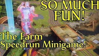 Destiny 2 - How To Activate The Speedrun Minigame at The Farm Social Space! (Scouting Commander)