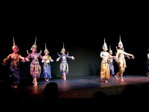 Cambodian Living Arts Cultural Show in Phnom Penh