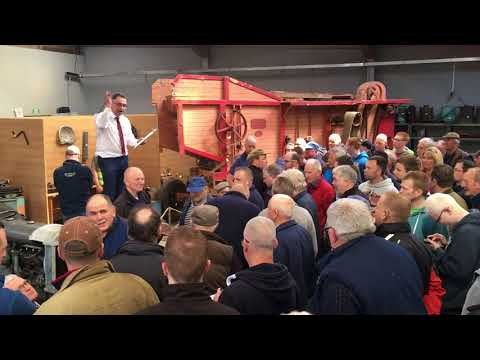 Vintage Ferguson Brown Goes Under The Hammer At FMC Auctions Ballymoney