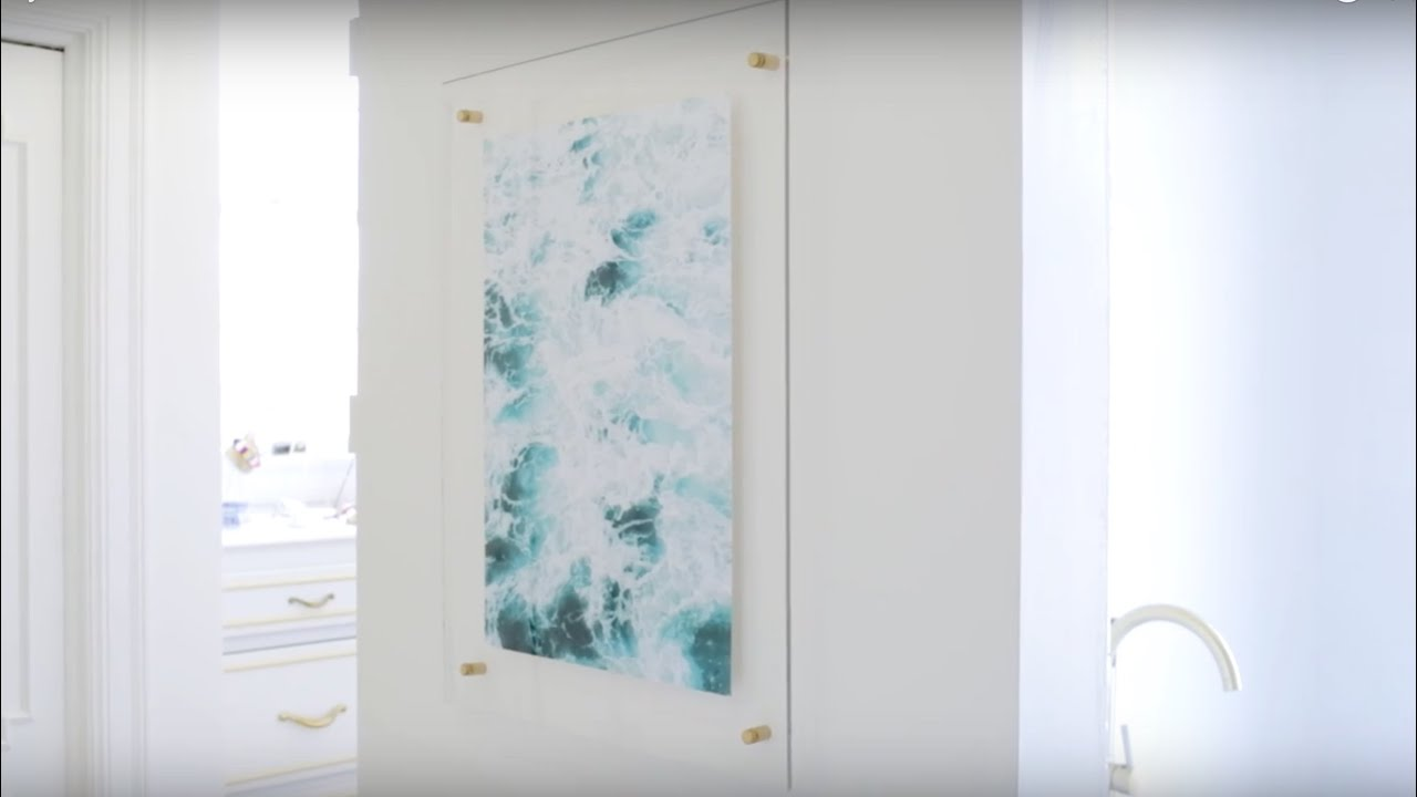 Acrylic Frame DIY - YouTube