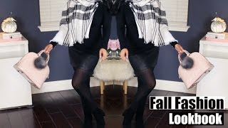 Fall Fashion Lookbook New York Outfits! #iHeartFall Ep7 MissLizHeart