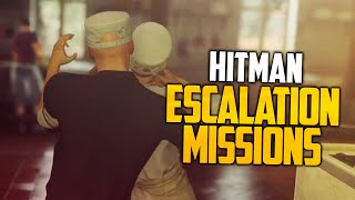 ESCALATION MISSIONS ARE EASY (HITMAN)