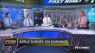 Why Apple surges after earning report