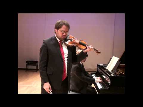 Franck Violin Sonata in A IV. Allegretto poco mosso - Petteri Iivonen & Marko Hilpo