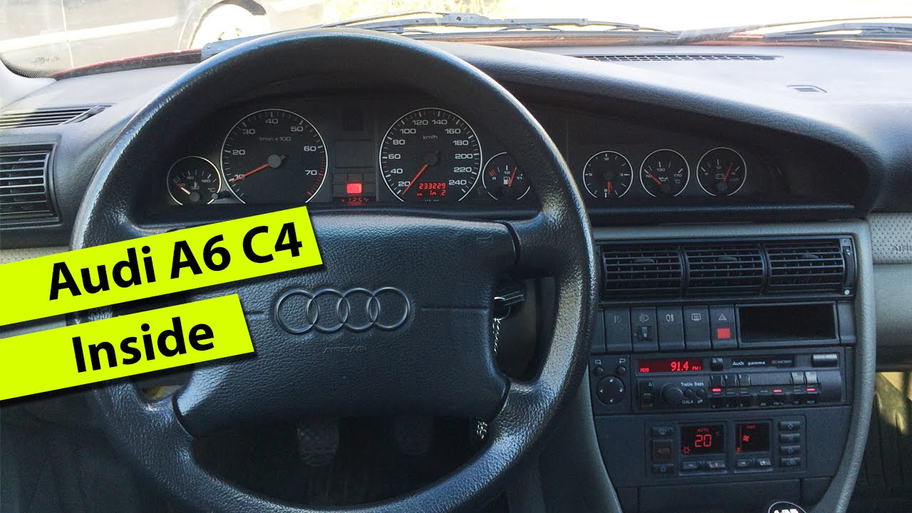 Audi A6 2 0i C4 1995 Inside Youtube