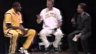 Larry Bird Retirement 1993 Part 8  Magic Johnson