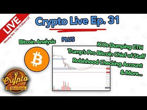 Crypto Live Ep. 31 - Bitcoin Analysis and more!