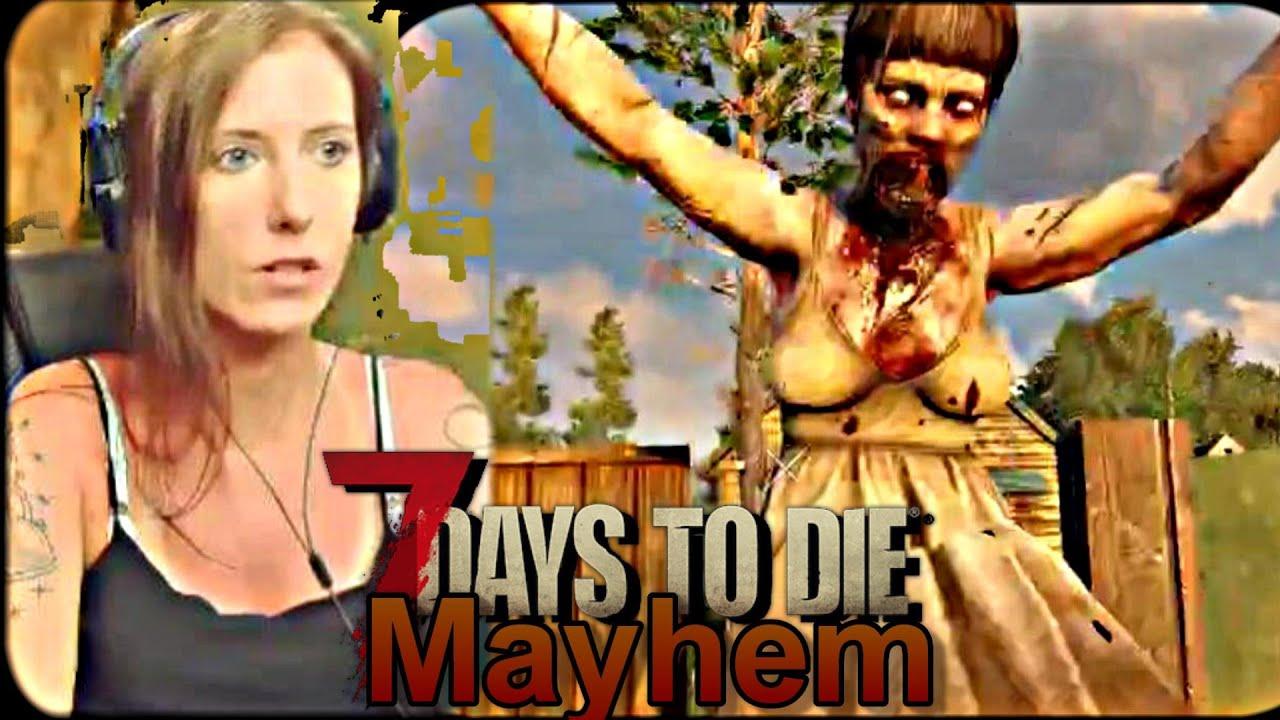 7 Days to Die  Mayhem: Day 2 | 7 Days to Die Alpha 19 Experimental