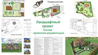 видео Разработка и создание документации по ландшафтному проектированию участка