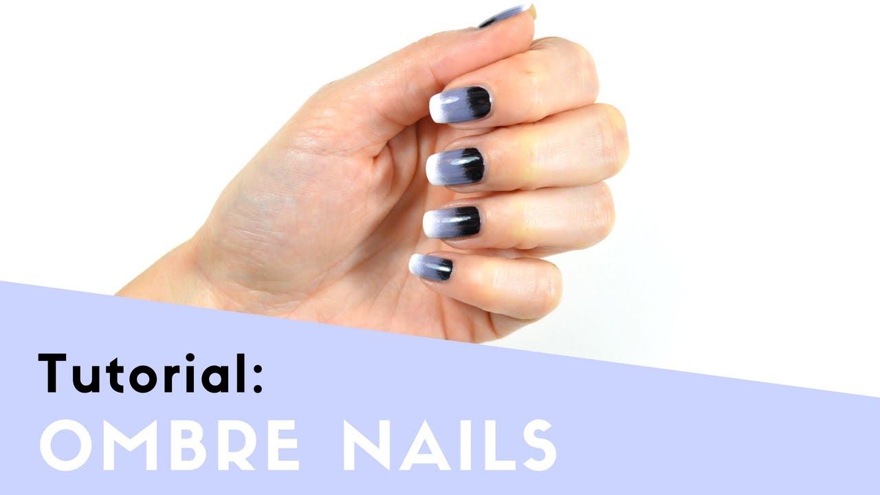 Ombre Nails - Nägel mit Farbverlauf einfach selber machen - Tutorial ...