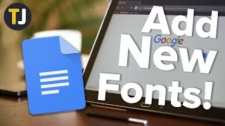How to Install Custom Fonts in Google Docs!