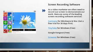 Video Hosting and Screen Recording Services