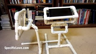 Kindle Fire Stand with PVC Homemade Tablet Holder