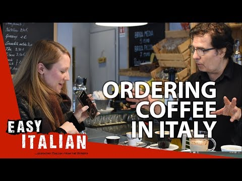 How To Order A Coffee In Italy?   Easy Italian 12