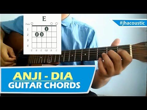 ANJI DIA - CHORDS / Guitar Tutorial