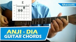 Video ANJI DIA - CHORDS / Guitar Tutorial download MP3, 3GP, MP4, WEBM, AVI, FLV Januari 2018