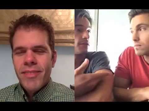 EXCLUSIVE! Watch Perez's Interview With Eric Winter & Daniel di Tomasso