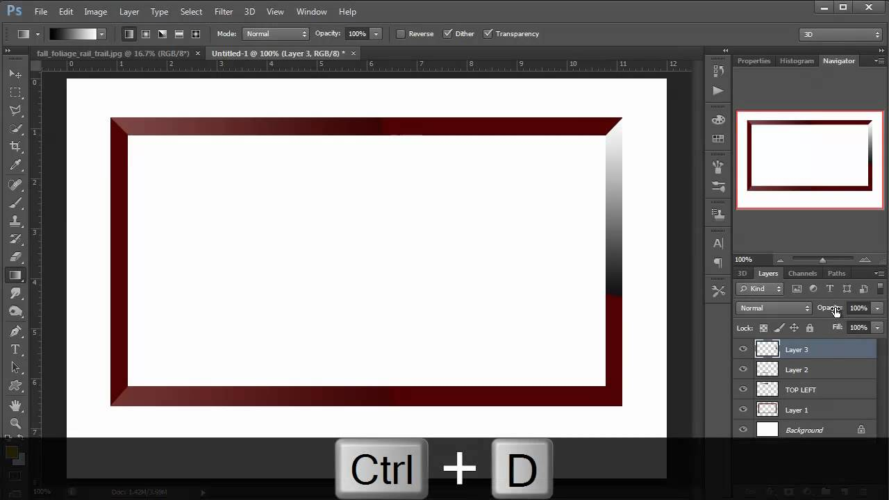 Creating a Decorative Photo Frame in Photoshop - Photo ...