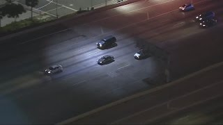 Man accused of stealing Honda Accord prompts late night police chase in LA