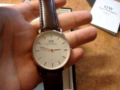 Часы Daniel Wellington Sheffield - обзор мужских часов DW - YouTube