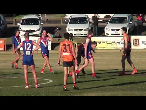 Rd 4   South Barwon Goals vs Geelong West