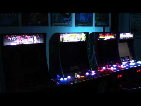 Arcade1up Marquee Upgrades First Power-Up from Billy Vaux