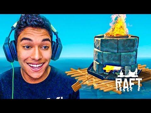 NOVO ITEM PARA CASA NO BARCO !! - Raft [#07]