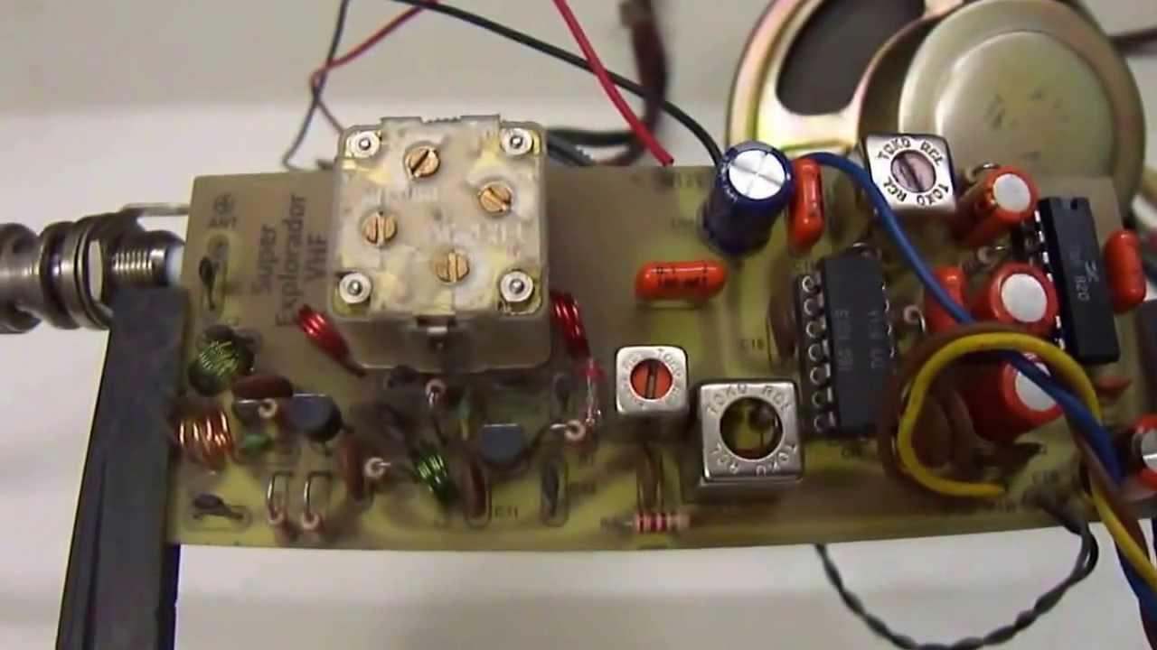 Muitas vezes Explorador FM VHF - Revista Saber Eletrônica nº 179 - YouTube EG71