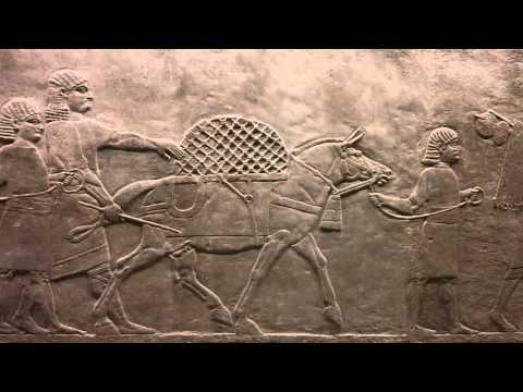 Going out Hunting Assyrian about 645-635 BC Nineveh British Museum London