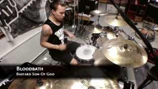 Patrik Fält - Bloodbath - Bastard Son Of God (Drum cover)