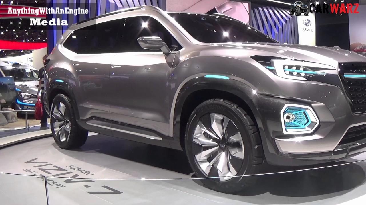 2018 subaru viziv 7.  viziv 2018 subaru viziv 7 suv concept at the 2017 naias detroit auto show to subaru viziv
